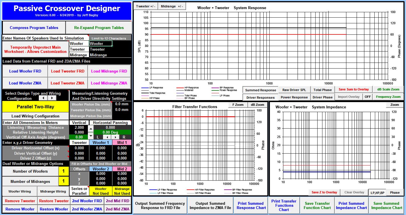 Loudspeaker Design Software